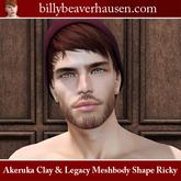 Akeruka Clay & Legacy Meshbody Shape Ricky