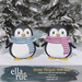 EllaRue - Winter Penguin With Scarf