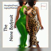 Melange- Nene Bodysuit Fatpack