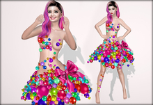 Boudoir Christmas-Bauble Dress Colours
