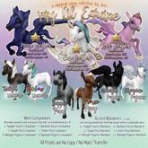 JIAN My Lil Equines 10. Twilight Unicorn Wanderer BOX