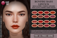Izzie's - DEMO Bonfire Bash Lipstick (Catwa HDPRO)