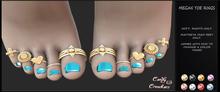 Candy Crunchers - Megan Toe rings - Maitreya - HIGH w/HUD