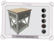 ~Trove~ Industrial Nightstand