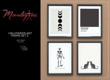 Moonley Inc. - Halloween Art Frame Set 2