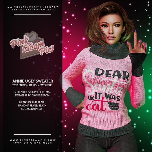 !PCP :: Annie Ugly Sweater [2020 Pack]
