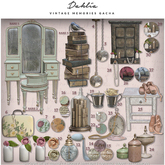 Dahlia - Vintage Memories - Flower in cup - 20 (REZ)