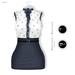 GAWK! Navy Vintage Blouse Dress | for Maitreya Lara | Maitreya Petite