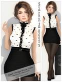 Gawk! DEMO Vintage Blouse Dress (Mesh)