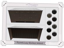 ~Trove~ Farmhouse Kitchen Island