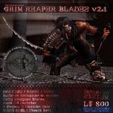 [:TCR:] Grim Reaper's Blades for Men v2.2 (REPRICED)