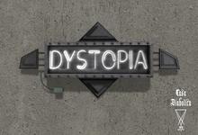 Dystopia Neon Sign (Casa Diabolica) Box