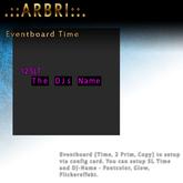 .::Arbri::. Eventboard Time