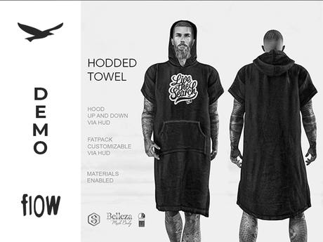 flow . Hooded Towel Demo