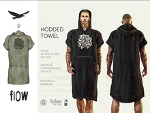 flow . Hooded Towel 03