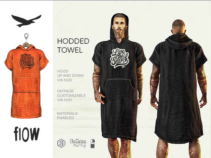 flow . Hooded Towel 04
