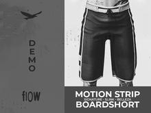 flow . Motion Stripe Boardshorts - Demo