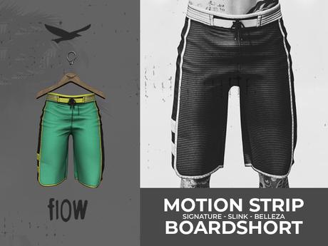 flow . Motion Stripe Boardshorts - 02