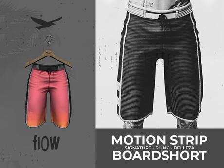 flow . Motion Stripe Boardshorts - 07