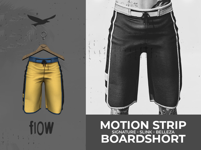 flow . Motion Stripe Boardshorts - 08