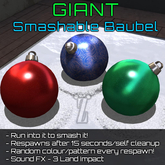 [inZoxi] - Giant Smashable Baubel