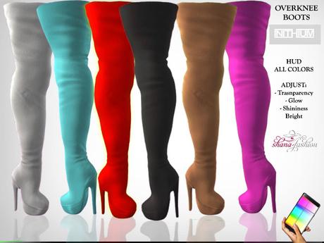 INITHIUM Kupra Overknee Boots ( All Colors )