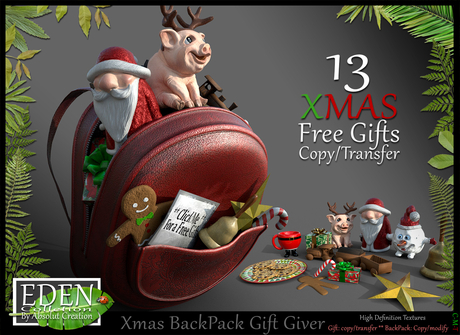 (*.*) Xmas BackPack Gift Giver