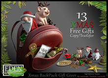 (*.*) Xmas BackPack Gift Giver - wear to unpack