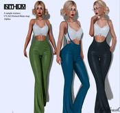 .byCrash Full perm mesh-Suspender pants and crop top KUPRA ONLY
