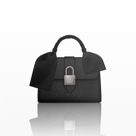 Anja Locky Bag — Onyx