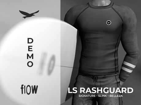 flow . LS Rashguard - Demo