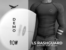 flow . LS Rashguard - Demo