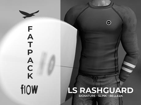flow . LS Rashguard - Fatpack