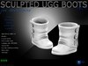 Sculpt full perm ugg boots  no.11 for shoes designers