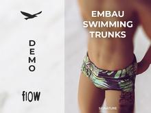 flow . Embau Swimming Trunks Demo