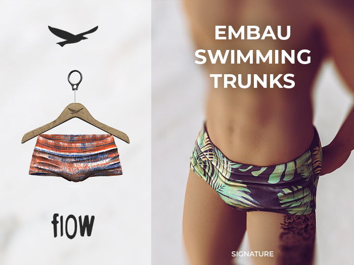 flow . Embau Swimming Trunks 01