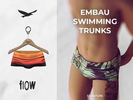 flow . Embau Swimming Trunks 02