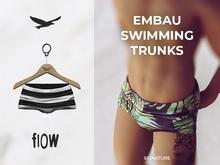 flow . Embau Swimming Trunks 04