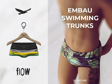 flow . Embau Swimming Trunks 05