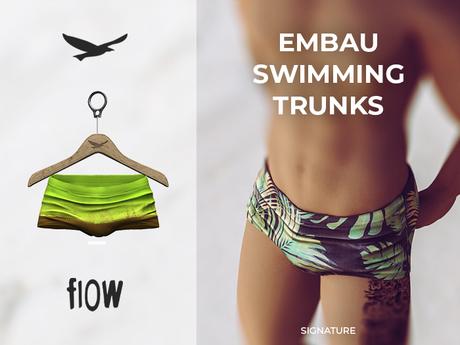 flow . Embau Swimming Trunks 06