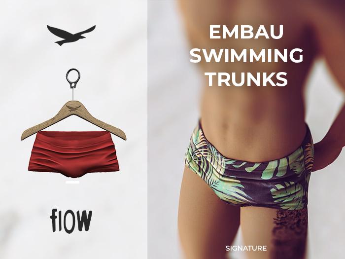 flow . Embau Swimming Trunks 08