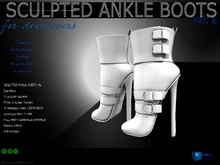 Sculpt full perm heel hankle boots no.6 for shoes designers 1.0