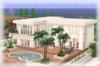 Palm Beach Bungalow House Part Mesh