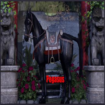 Cheval D'or / TeeglePet Pegasus / Emperor Tackset.