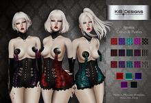 "KiB Designs - Ignatia Corset & Pasties DEMO  ""Wear"""