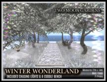TMG - WINTER WONDERLAND* Small Landscaped Woodland Walk