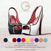 Ghee Originals - Cherie Heels (Maitreya & Legacy) FATPACK