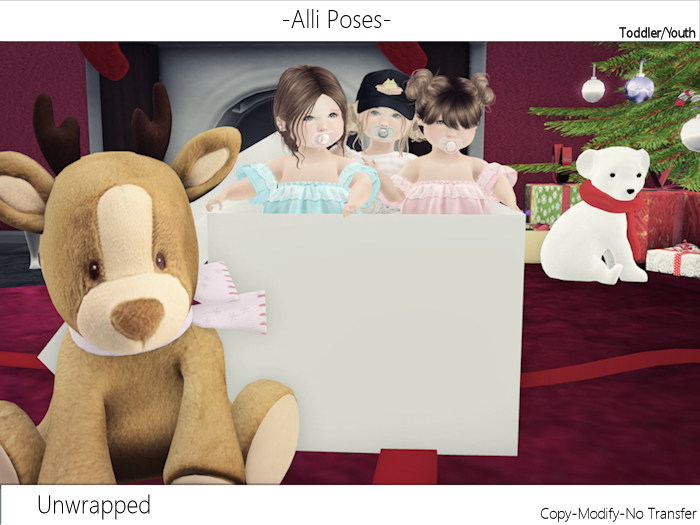 -Alli Poses -  Unwrapped {wear}