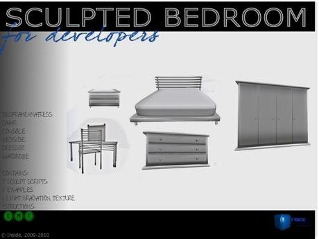 Sculpted Bedroom set