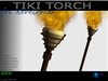 Sculpted full perm Tiki Torch with baked textures & fire script